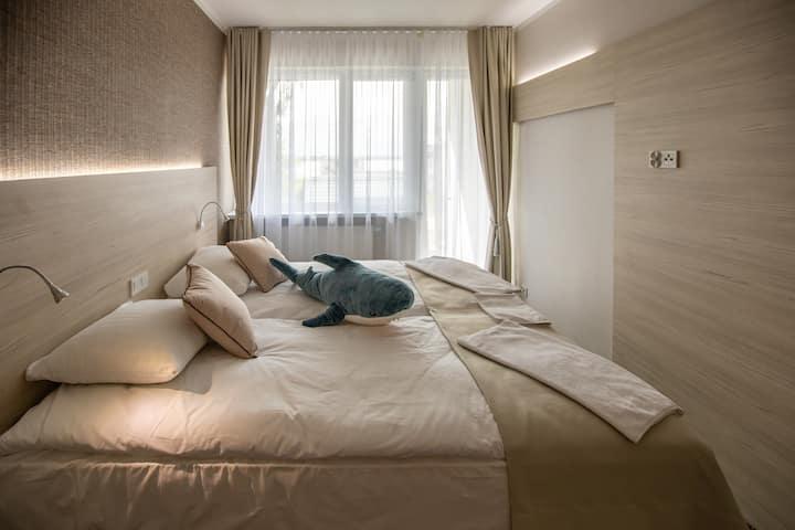 WillaNEST - cicha, pyszna i komfortowa 2 os.Balkon