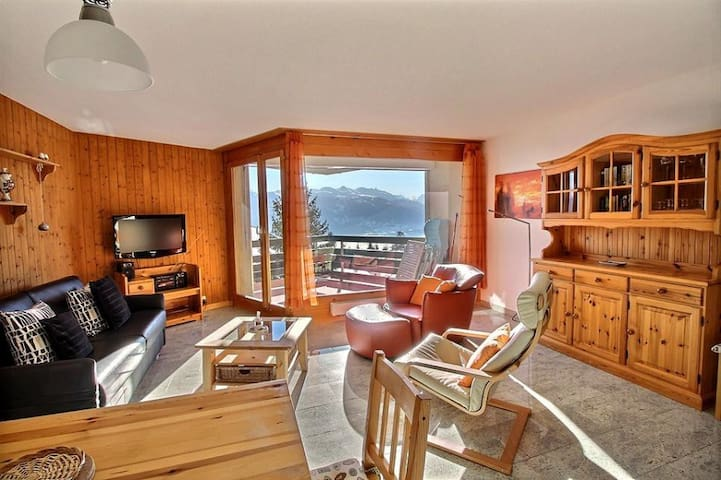 Private holiday flat in Anzere, Switzerland