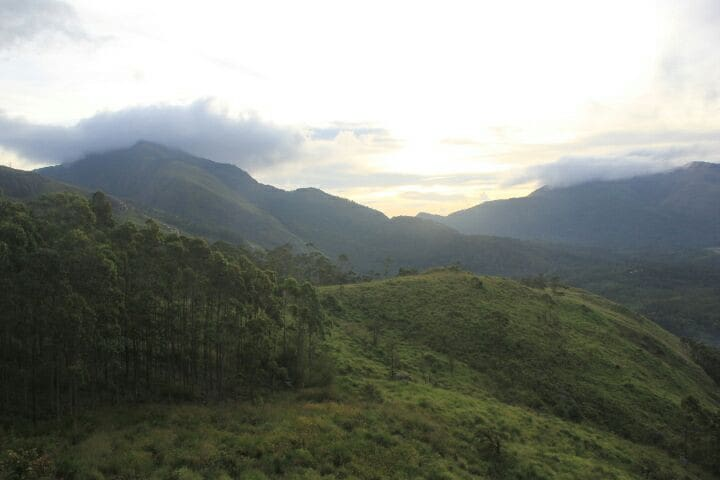 Mountain walk - Munnar, Kerala, IN - Sátor