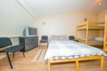 Appartment for football funs 26 people