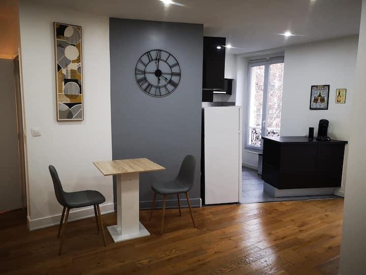 Appartement agréable et charmant dans Paris