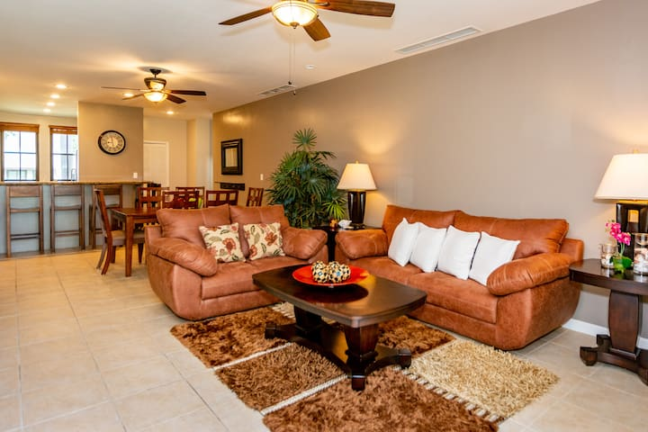 Comfort is all at this 3 bed, ground floors unit!