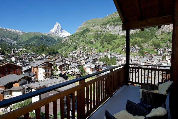 Carmen Family Penthouse with great Matterhorn view