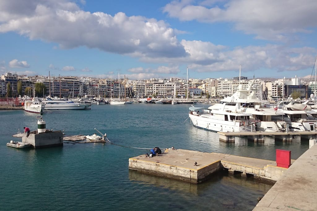 Beautiful Yacht dock of Pasalimani it is only two minutes walk from the house..