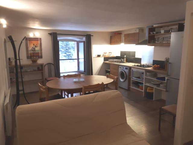 Appartement paisible au cœur des montagnes