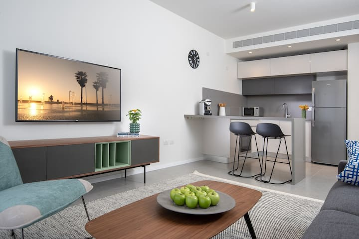New Shenkin Serviced Apartment in Center Tel Aviv