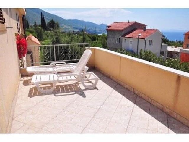 One bedroom Apartment, in Orebic, Outdoor pool, Terrace