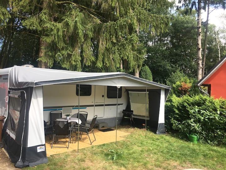 #C1 Komfortables Caravan-Feeling - ruhig - Strand