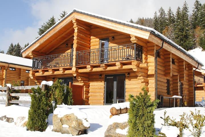 Gemütliches Ferienhaus in Jenig mit Skifahren in der Nähe