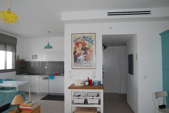 tzvia's apartment