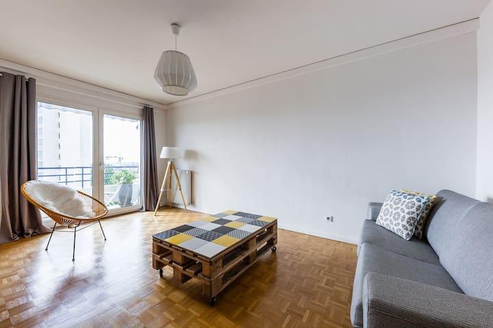 Appartement avec magnifique vue cathédrale 58m2