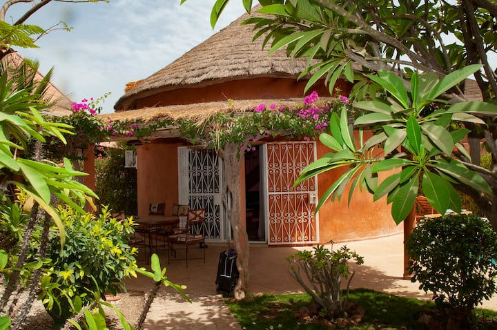 villa avec piscine Safari village saly.