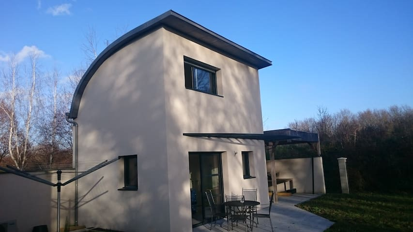 Contemporary Place in Anjou - Le Plessis-Grammoire - Casa