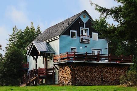 The Harn - Renovated barn home on acreage - Port Ludlow - Dům