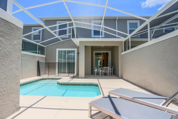 Amazing 4BD Townhome w/ Private Pool!