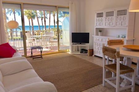 Appartement Salou 1ère ligne de la mer,rénové 2020