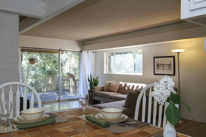 Midcentury Modern Home - Lower Level Apartment - Santa Rosa - Apartament
