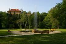 Stromovka park - just 5 minutes walk