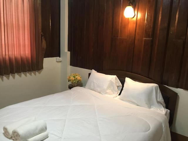 Double bed room with air condition