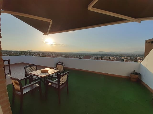 GRANADA DE POSTAL Sun Terrace(unforgettable views)