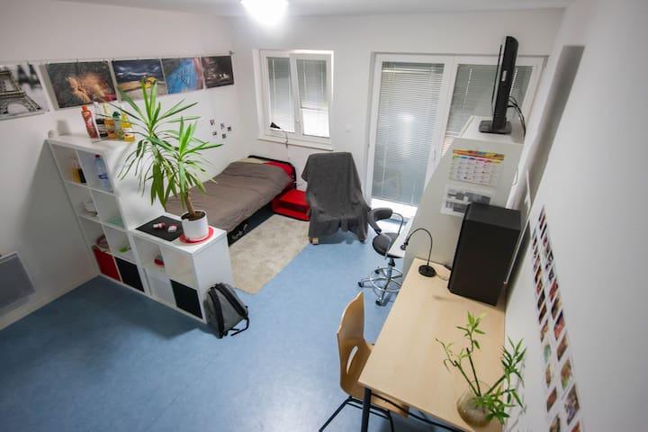 Appartement étudiant 30 m² - Port-sur-Saône - Leilighet