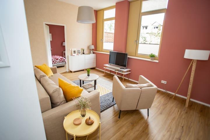 Helles, großes 90m² Apartement mit drei Schlafzimmern!