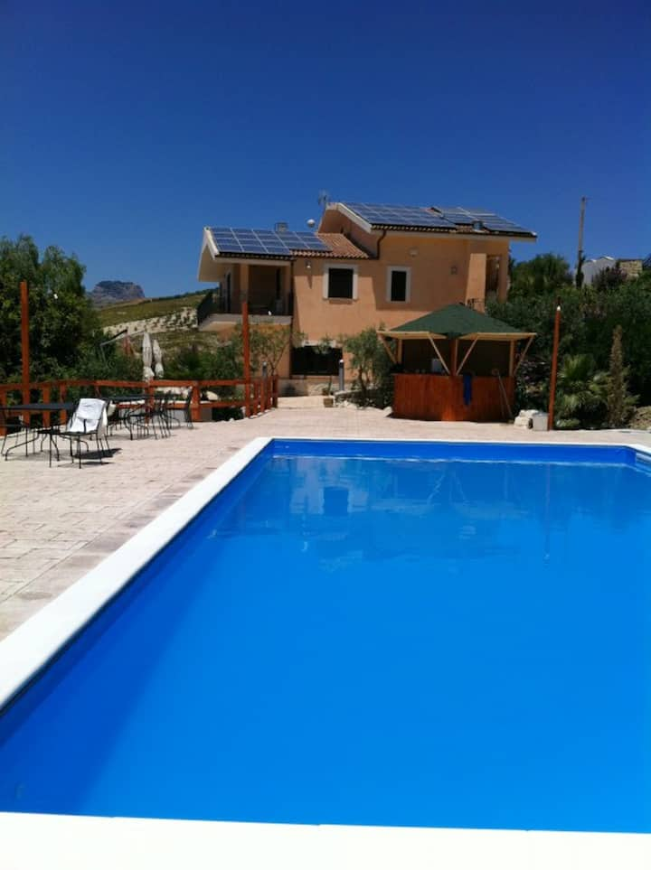 Villa with 5 bedrooms in Bompensiere, with private pool, enclosed garden and WiFi - 25 km from the beach