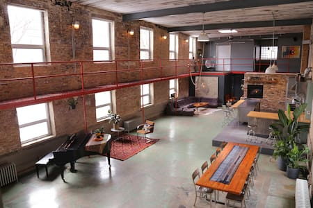 Former Candy Factory Home Studio - Chicago - Loft