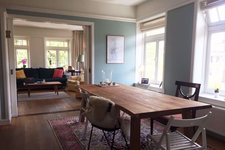 Light, quiet & spacious apt. in Rivierenbuurt RAI
