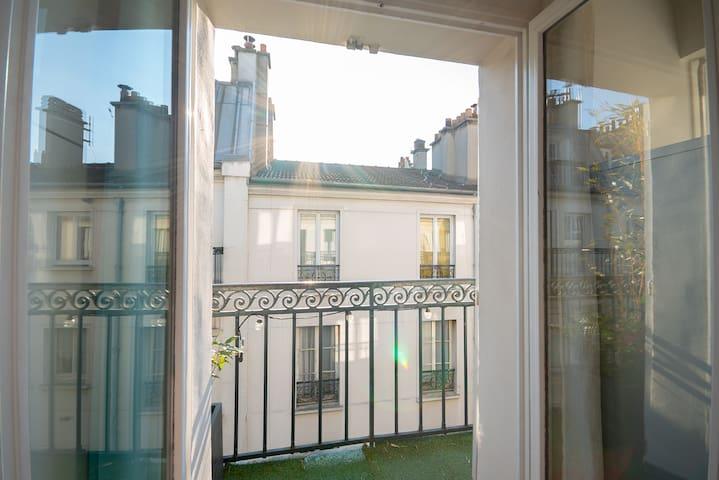 Deux pièces avec balcon entre Bastille et Nation