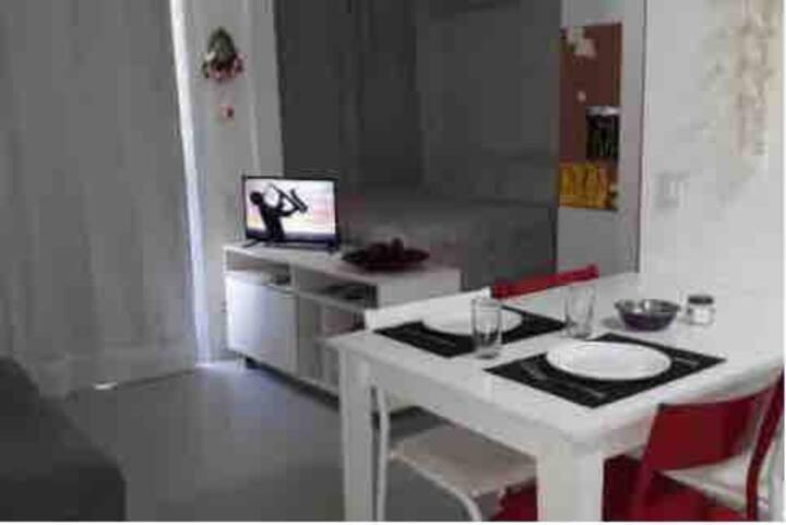 Alugo mensal Apartamento mobiliado