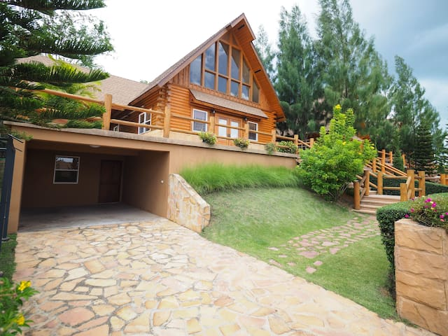 Log Home in Khaoyai
