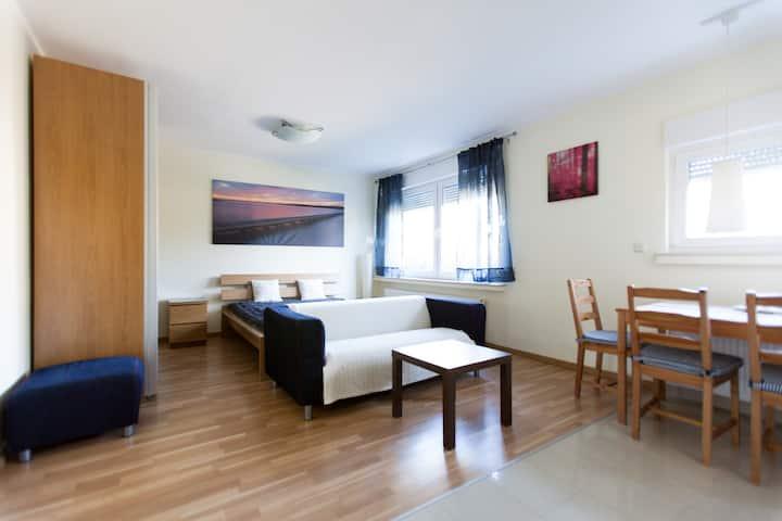 Apartment im Parterre für 1-2 in DO-Asseln