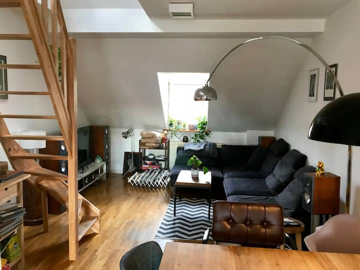 Cozy Loft near Central Station
