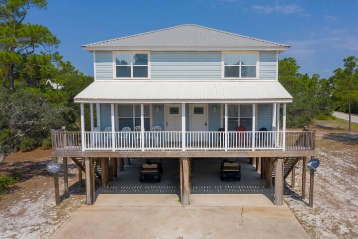 DunePlex West : Golf Cart + Pool + Beach Access