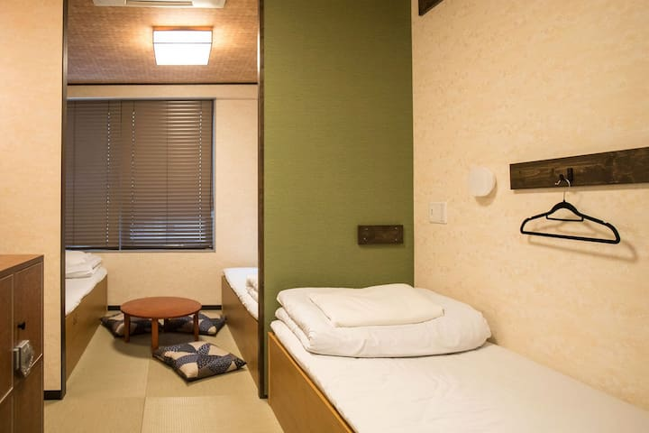 3BEDS PRIVATE W/BATHROOM/ASAKUSA 10min/DX3