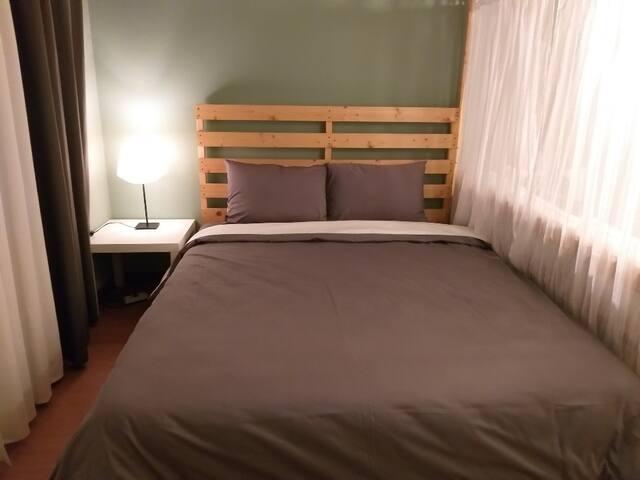 침실3(거실옆 오픈침실)