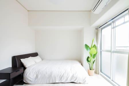 Comfy house for max 4ppl,Close to Kuromon market:) - Tennōji-ku, Ōsaka-shi - Wohnung