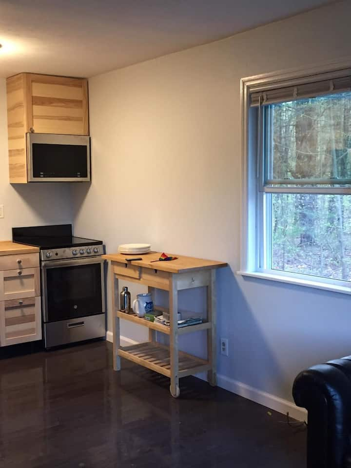 Two Bedroom, Renovated, Private House in the Woods