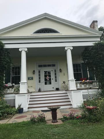 Private wing in a Charming Greek Revival