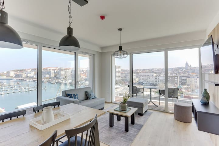 Suite deluxe for 4 people with 2 bedrooms and balcony