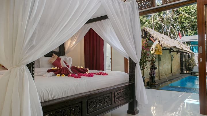 Relaxed with SUITE ROOM pool access in Mimba Bali