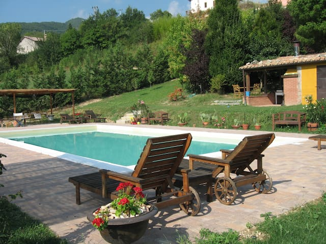 Villa Anatolia, a beautiful retreat in the Marche