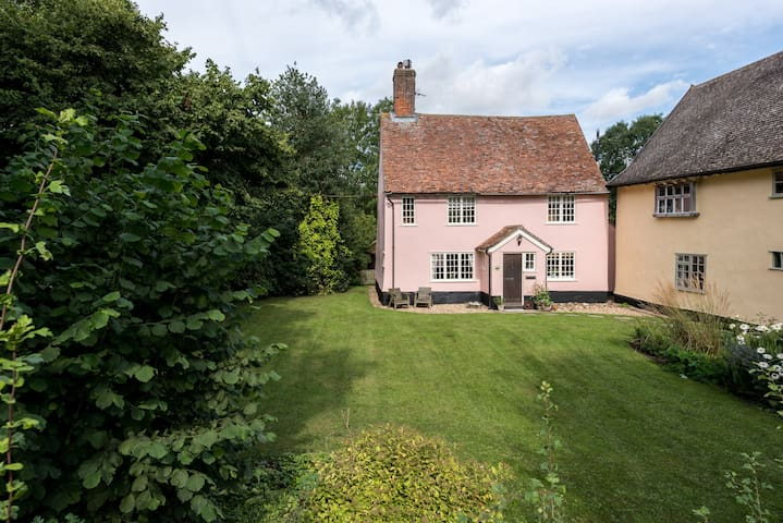 Historic, peaceful, country cottage - Suffolk - Huis