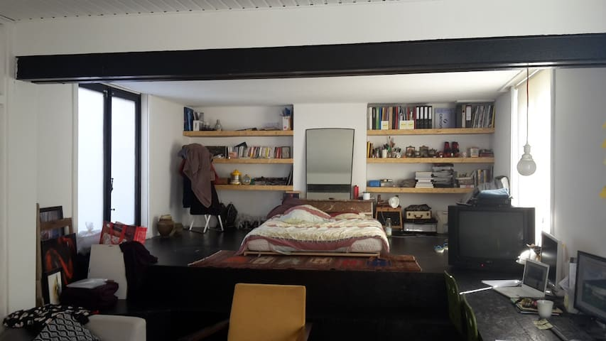 Loft in an industrial building - Forest - Daire