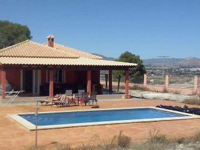 Villa privé zwembad, 3slaapkamers - Aspe - Villa