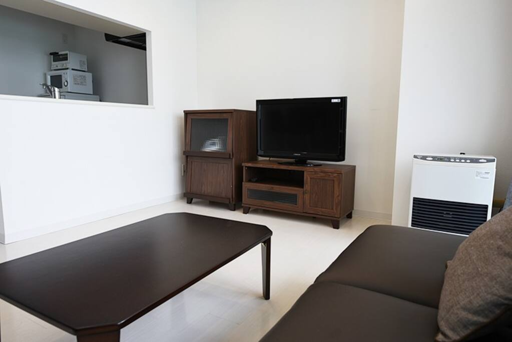 Living room -  semi double sofa bed (2050 × 1200)