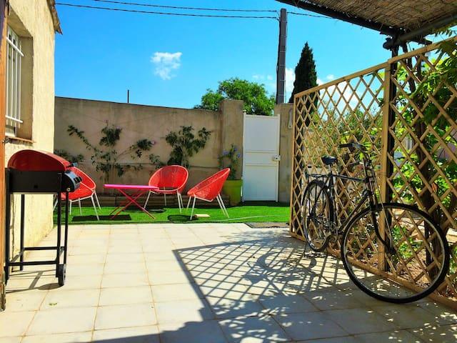 Charmant T2 indépendant avec jardin