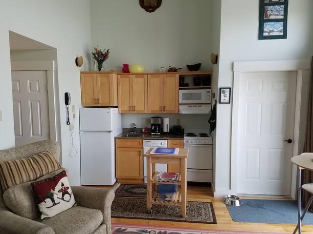 kitchen area view 1