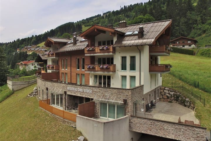 Luxury Apartment in Salzburgerland right next to the gondola